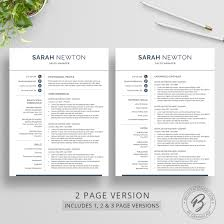 Browse 2 Page Resume Template Download 2 Page Resume Template 6 2