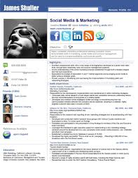 Facebook Style Resume Template Charming Facebook Style Resume Template Contemporary Example 1