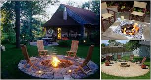 40 diy fire pit for your backyard f