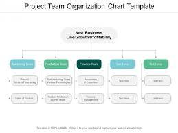 Project Organization Chart Template Project Team Organization Chart Template Ppt Powerpoint