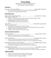 Resume | The Blueprint Idea