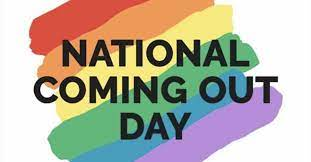 It's National Coming Out Day