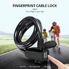 Towode parmak izi bisiklet kilidi paslanmaz bisiklet kilidi çelik Anti  hırsızlık akıllı kilit USB su geçirmez MTB kapı bisiklet  aksesuarları|Electric Lock