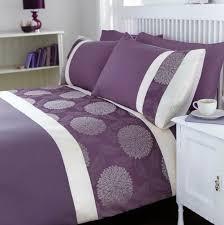 purple duvet sets uk