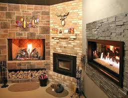 electric fireplace stone surround replace gas with insert