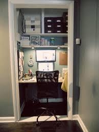 diy closet office. Shelf Under Lighting In Closet Office Diy