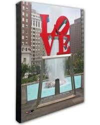 photo file philadelphia love statue 16 inch x 20 inch photo canvas wall art on philadelphia love wall art with don t miss this deal on photo file philadelphia love statue 16 inch