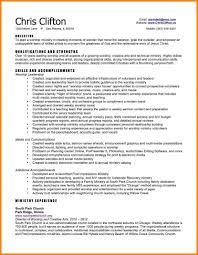 7 Pastoral Resume Template Address Example Minister Ministry