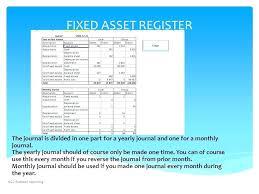 fixed assets format depreciation of fixed asset assets calculation template monster