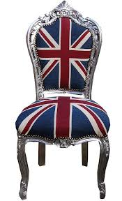 luxury union jack upholstered chair from made with love