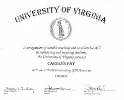 Carolyn M Fay Teaching Portfolio Appendices