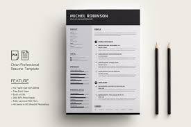 Modern Resumecv Resume Templates Creative Market