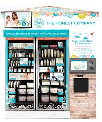 Vending Machine Website Mesmerizing Beauty Vending Machine Kiosks At The Airport InStyle