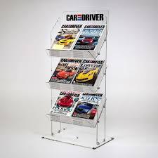 Single Magazine Display Stand Extraordinary Magazine Display Stands