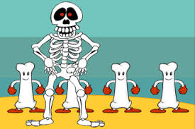 The scary <b>skeleton</b> | LearnEnglish Kids | British Council