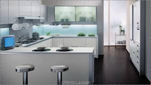 Contemporary Kitchens Designs Kitchen Contemporary Kitchen Design With White Island And Glass