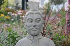 statue decoration garden chinese