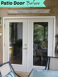 french doors patio exterior