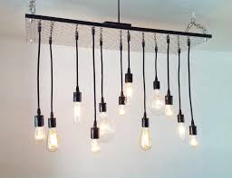 amazing of hanging ceiling lights ideas decor amp tips dir edison bulb chandelier for hanging ceiling