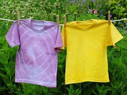 naturally dyed tee shirts