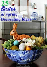 Small Picture Spring and Easter Decorating Ideas Vintage American Home