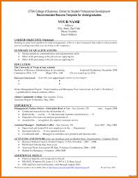 Beautiful Examples Of Resume Objectives For High School Students