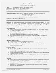 30 Best Of Store Manager Resume Summary Examples Jonahfeingold Com