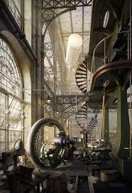 Old Steampunk Engine House by Robert Filip  http://www.steampunktendencies.com