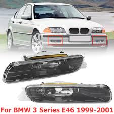 2002 Bmw 325i Fog Lights Details About Pair Front Bumper Fog Light For 1999 2001 Bmw E46 323i 325i 328i 330i 3 Series