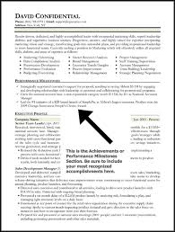 example achievements for resumes | Template
