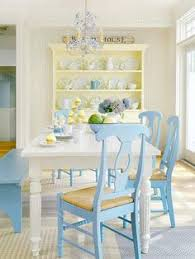 pale yellow dining room. cottage dining room blue and yellow cuteness this really is pretty normally not a big fan of but softer pairs so well with pale