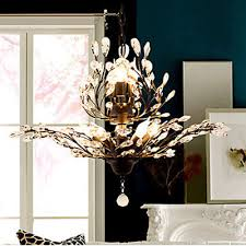 gold crystal chandelier lighting 8 lights fixture 2 tier pendant ceiling lamp