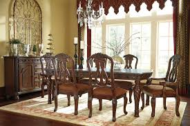 north s rectangular extendable dining room set from ashley d553 35 coleman furniture