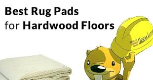 best rug pad for hardwood floors non slip safe pads