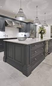 61 New Trend Colorful Kitchen Decorating Ideas For 2020 Part 21 Kitchen Cabin Elegant Kitchen Design Grey Kitchen Designs Kitchen Design