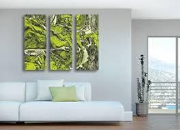 green wall art uk