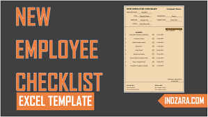 New Employee Checklist Free Excel Template Tour Youtube