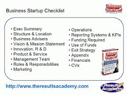 small business plans examples small business startup checklist small business plan template part