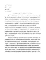 in the essay the protestant work ethic just another urban legend most popular documents for english 4