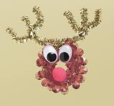 easy homemade craft ideas for christmas. reindeer ornament kids easy homemade craft ideas for christmas