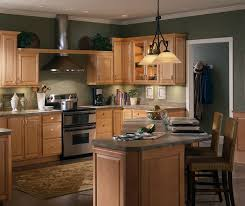 Kitchens With Cherry Cabinets Custom Natural Maple Kitchen Cabinets Homecrest Cabinetry