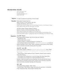 Likable Interior Design Resume Profile Best Examples