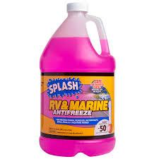 Rv Antifreeze Dilution Chart Splash Rv Marine 50 Propylene Glycol Antifreeze