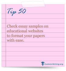 essay  writing  students Check essay samples on educational websites to format your papers