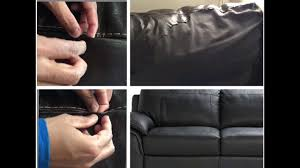 how to fix a tear in leather sofa fabric home repair