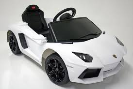 lamborghini aventador white. kids electric car lamborghini aventador 6v white