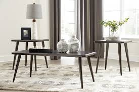 west branch furniture. Contemporary West Fazani  Dark Brown Occasional Table Set 3CN In West Branch Furniture W