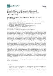 pdf antifungal and anermitic activities of wood vinegar from vitex scens vahl