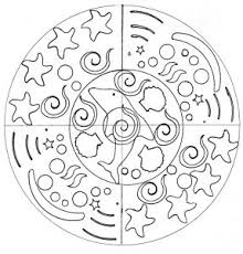 5) using colours into scavenger hunt is the great way to incorporate several. Easy Mandalas For Kids 100 Mandalas Zen Anti Stress