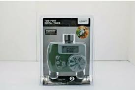 this automatic watering timer will allow you to water without worry the oversized dial allows manual selection for every day every other day every